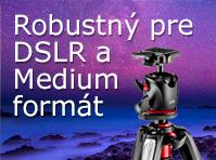 Robustný pre DSLR a Medium formát