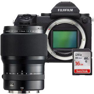 Fujifilm GFX 50S + GF110mm + 16GB SanDisk