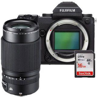 Fujifilm GFX 50S + GF120mm + 16GB SanDisk