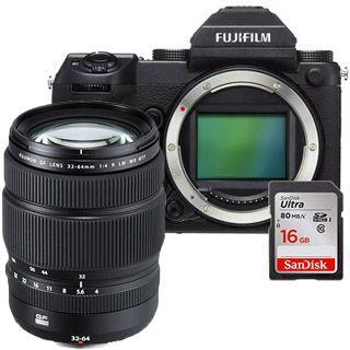 Fujifilm GFX 50S + GF32-64mm + 16GB SanDisk