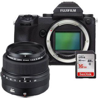 Fujifilm GFX 50S + GF63mm + 16GB SanDisk