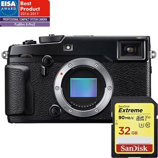 FujiFilm X-PRO2 telo (CASHBACK 200€) +32GB Sandisk Zadarmo !